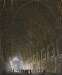 Internal View of Westminster Hall 24-I